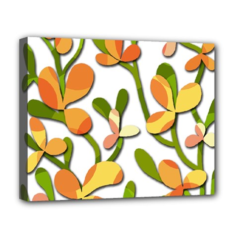 Decorative floral tree Deluxe Canvas 20  x 16