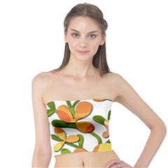 Decorative floral tree Tube Top