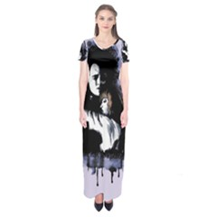 I Am Not Complete Short Sleeve Maxi Dress