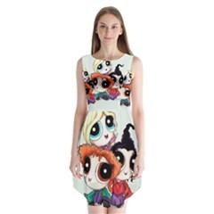 HocusPuffs  Sleeveless Chiffon Dress