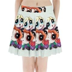 Hocuspuffs  Pleated Mini Skirt
