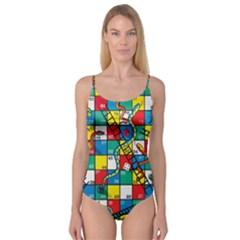 Snakes And Ladders Camisole Leotard