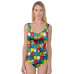 Snakes And Ladders Princess Tank Leotard