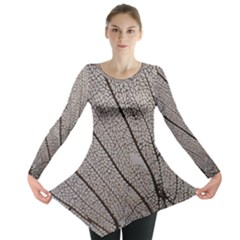 Sea Fan Coral Intricate Patterns Long Sleeve Tunic