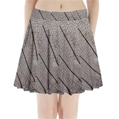 Sea Fan Coral Intricate Patterns Pleated Mini Skirt