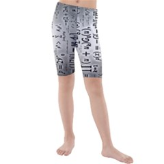 Science Formulas Kids  Mid Length Swim Shorts
