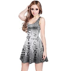 Science Formulas Reversible Sleeveless Dress