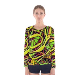Snake bush Women s Long Sleeve Tee