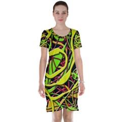 Snake bush Short Sleeve Nightdress