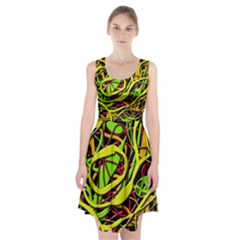 Snake bush Racerback Midi Dress