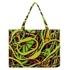Snake bush Medium Zipper Tote Bag