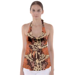 Rock Music Moves Me Babydoll Tankini Top