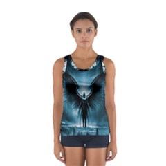 Rising Angel Fantasy Women s Sport Tank Top