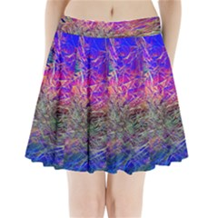 Poetic Cosmos Of The Breath Pleated Mini Skirt