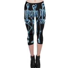 Adventure Time Cover Capri Leggings