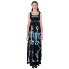 Adventure Time Cover Empire Waist Maxi Dress