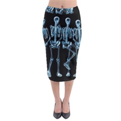 Adventure Time Cover Midi Pencil Skirt
