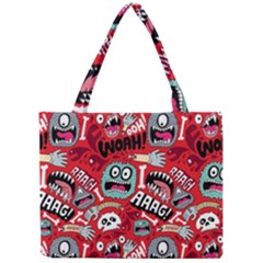 Agghh Pattern Mini Tote Bag