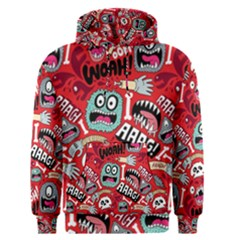 Agghh Pattern Men s Pullover Hoodie