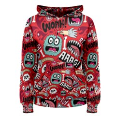 Agghh Pattern Women s Pullover Hoodie