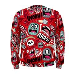 Agghh Pattern Men s Sweatshirt