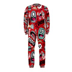 Agghh Pattern OnePiece Jumpsuit (Kids)