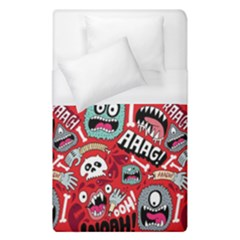 Agghh Pattern Duvet Cover (Single Size)
