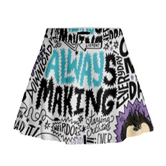 Always Making Pattern Mini Flare Skirt