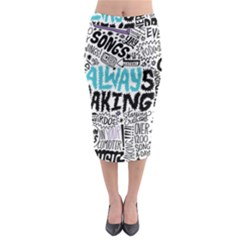 Always Making Pattern Midi Pencil Skirt