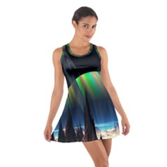 Planets In Space Stars Cotton Racerback Dress