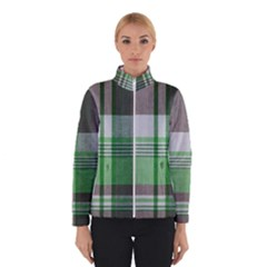 Plaid Fabric Texture Brown And Green Winterwear