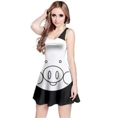 Pig Logo Reversible Sleeveless Dress