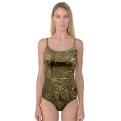 Peacock Metal Tray Camisole Leotard