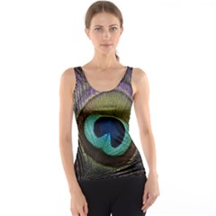 Peacock Feather Tank Top