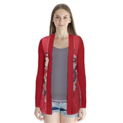 Joy Drape Collar Cardigan