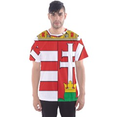 Medieval Coat Of Arms Of Hungary  Men s Sport Mesh Tee