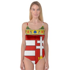 Medieval Coat of Arms of Hungary  Camisole Leotard