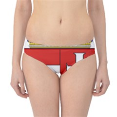 Medieval Coat Of Arms Of Hungary  Hipster Bikini Bottoms
