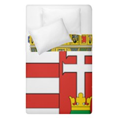 Medieval Coat Of Arms Of Hungary  Duvet Cover Double Side (single Size)