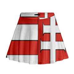 Medieval Coat Of Arms Of Hungary  Mini Flare Skirt