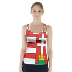 Medieval Coat Of Arms Of Hungary  Racer Back Sports Top