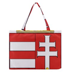 Medieval Coat of Arms of Hungary  Medium Zipper Tote Bag