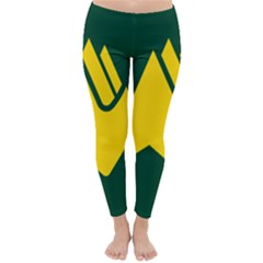 Flag Of Biei, Hokkaido, Japan Winter Leggings