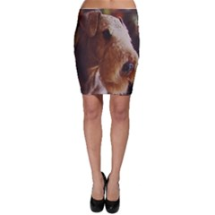 Airedale Terrier Bodycon Skirt