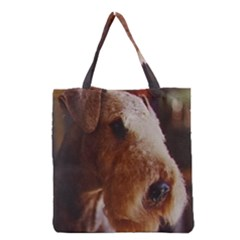 Airedale Terrier Grocery Tote Bag