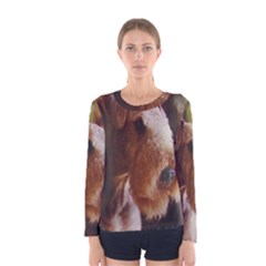 Airedale Terrier Women s Long Sleeve Tee