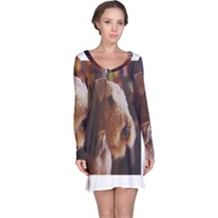 Airedale Terrier Long Sleeve Nightdress