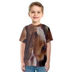 Airedale Terrier Kids  Sport Mesh Tee