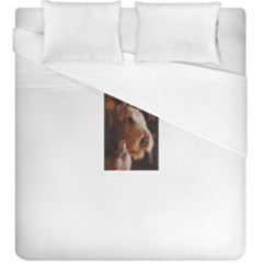 Airedale Terrier Duvet Cover (King Size)