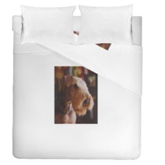 Airedale Terrier Duvet Cover Double Side (Queen Size)